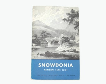 Snowdonia, National park quide 1968 from England