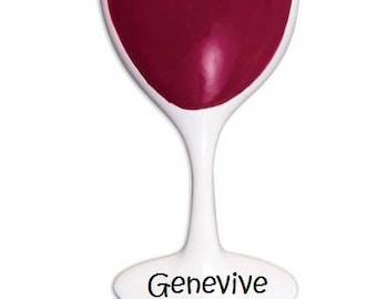 3D Custom Wine Ornament, Cute Custom Wine Lover, Wine-O Ornament