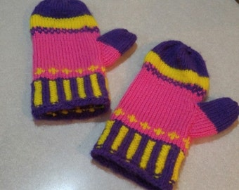 Mittens- gloves- Hand Warmers- Texting gloves-wrist warmers- mittens- one of a kind- ready to ship- handmade-winter mittens