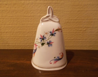 Beautiful Vintage Royal Tara Fine Bone China Bell - Designed and Produced Exclusively for The Danbury Mint - Galway, Ireland