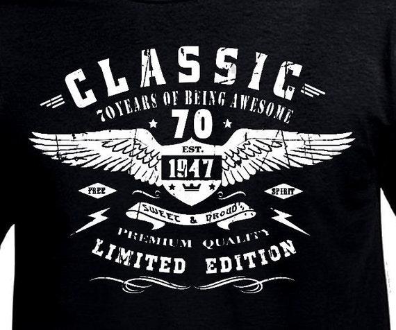 Cadeau 70e Verjaardag Man