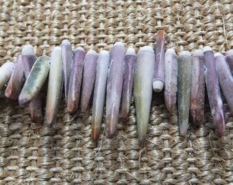 Sea anemone beads