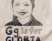 Chicana - Gloria Anzaldua Feminist Tote Bag - SALE- TEST/MISPRINT -