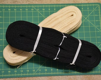 Soft Straw Braid for Millinery, Hat Making, Boaters etc 50m Hanks