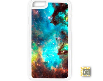 Galaxy S8 Case, S8 Plus Case, Galaxy S7 Case, Galaxy S7 Edge Case, Galaxy Note 5 Case, Galaxy S6 Case - Nebula Aqua