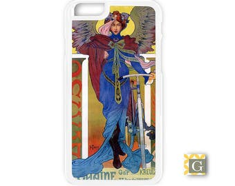 Galaxy S8 Case, S8 Plus Case, Galaxy S7 Case, Galaxy S7 Edge Case, Galaxy Note 5 Case, Galaxy S6 Case - Deco Bicycle Angel