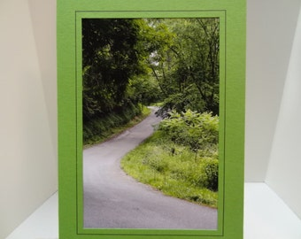 Back Roads of Pennsylvania Blank Photo Card with Envelope