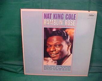 Nat King Cole LP Ramblin Rose Capital Records # T-1793