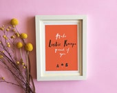 Make Leslie Knope Proud of You - A5, A4 or A3