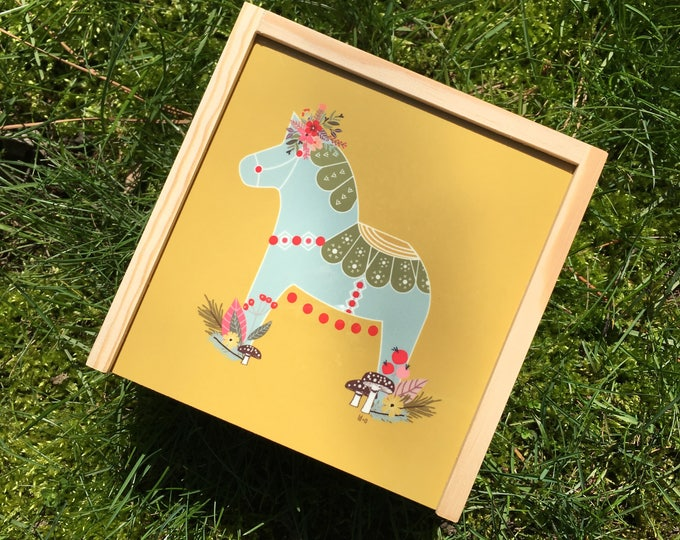 Woodland Dala Keepsake Box