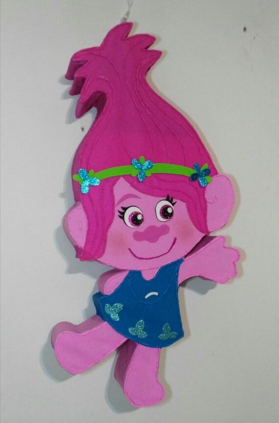 Trolls Birthday Poppy Pinata