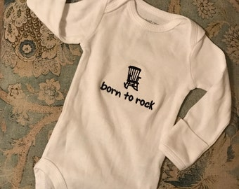 Born To Rock Onesie
