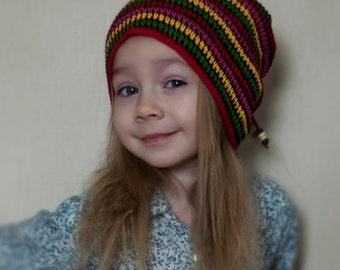 lightweight knitted summer hat