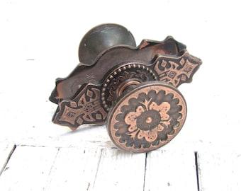 door handles vintage metal old knobs russian soviet handles round doorknob decorative door knob rustic decor - Decorative Door Knobs