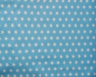Fabric - Jersey fabric - Sky small star print knit - Cotton/elastane