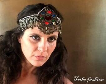 Tribal fusion, ethnic kuchi headband