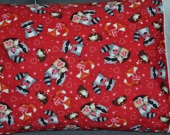 Be Mine Animals Pillowcase