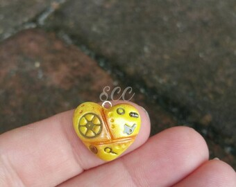 Sweet Heart- Yellow Steampunk