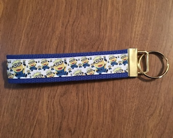 Minions Key Chain Zipper Pull