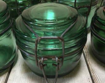 Choose! 350ml or 500ml Solidex French Vintage Canning Jars, Storage Jars, Art Deco