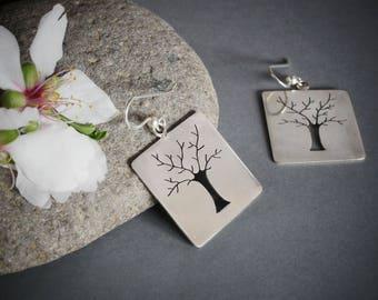 Sterling Silver Earrings Tree (medium)