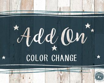Hand Drawn Premade Logo Color Change Add-On
