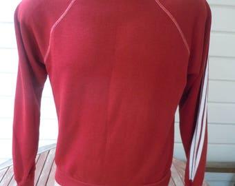 Size L (42R) -- Wonderful 1970s Rayon Blend Sweatshirt