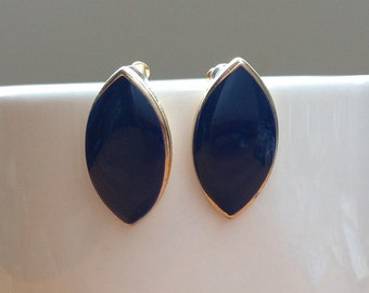 Cobalt Blue stud earrings
