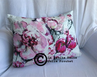 "rectangular pillow ""Jour de bulle"""