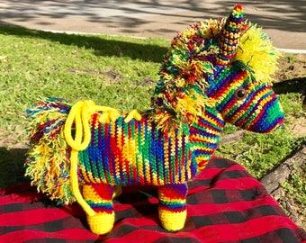 Piñata Horse crochet pattern