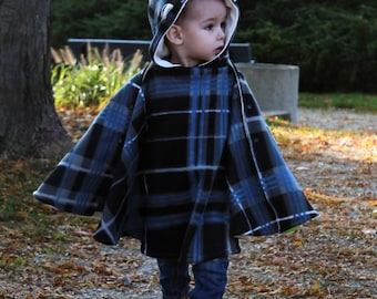 Goober Pea Pod car seat cape/poncho sewing pattern
