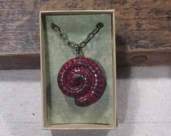 Millipede Necklace