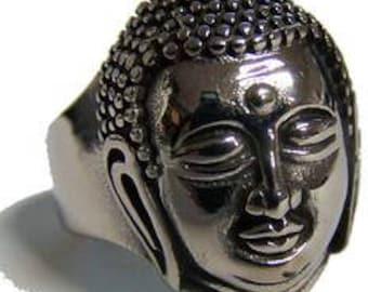 Buddha Head Ring