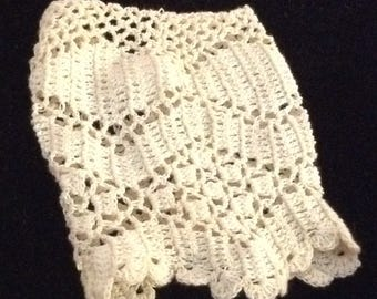 Antique Style Crocheted Doll Shirt