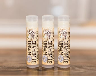 Chamomile Lip Balm - UK Free Shipping