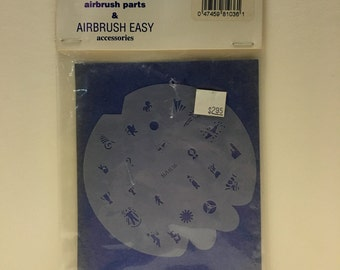 BADGER Airbrush Easy Accessories LADIES CHOICE Nail Stencils BAB36