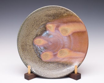 Wood Fired Stoneware Dinner Plate, 0532014
