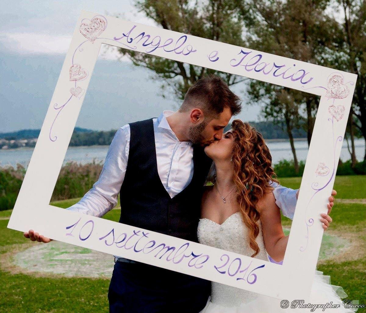 Fabriquer photomaton mariage - Cadre photo mariage personnalise ...