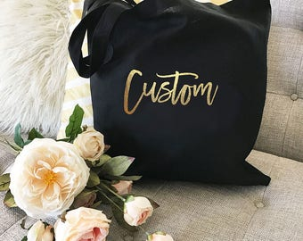 Tote Bag, Customized