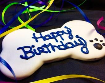 Gourmet Dog Treats: Homemade Happy Birthday Dog Bones