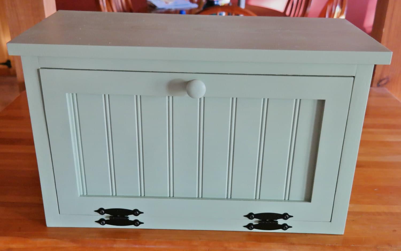 Kitchen Cabinet Bread Box