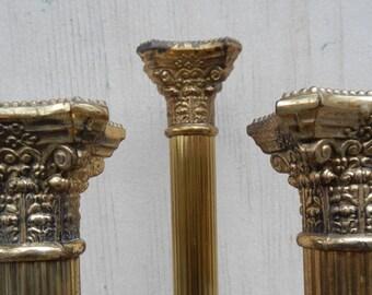 Vintage Neoclassical Centerpiece Candleholder Trio!
