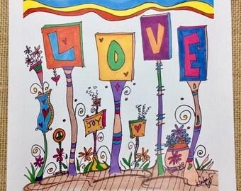 Love Garden (Just Because) Card