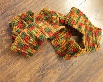 Autumn Brocade Tie Scarf