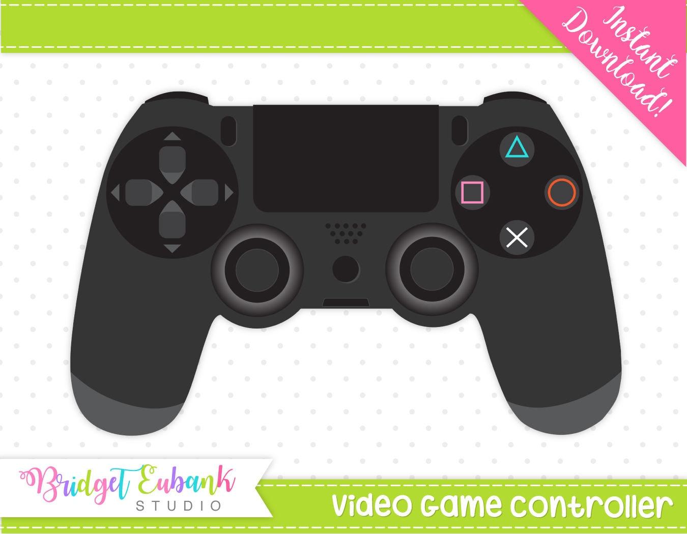 Gaming controller clip art