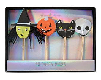Halloween Faces Party Picks