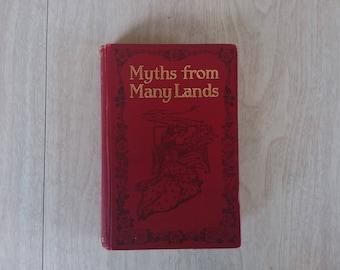 "Vintage Children's Hour ""Myths from Many Lands"" 1907"