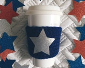 navy star || drink cozy