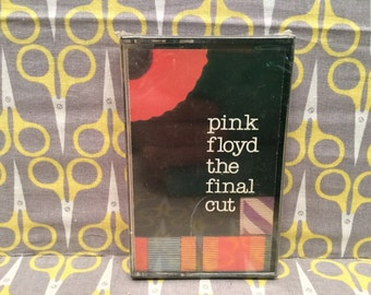 Sealed The Final Cut by Pink Floyd Cassette Tape rock