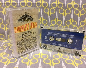 Rock Spectacle by The Barenaked Ladies Cassette Tape rock live